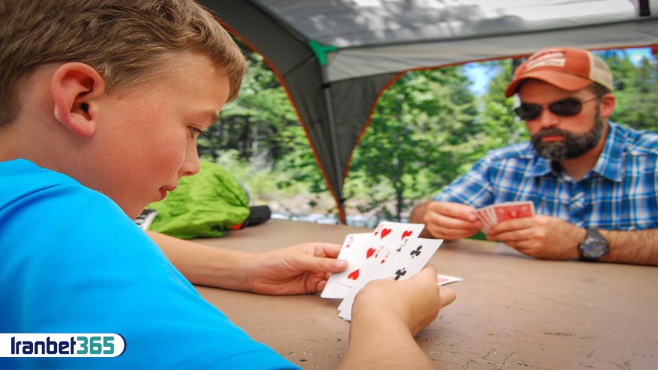 کارت بازی با کودکان